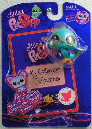 Littlest Pet Shop Activity Set My Collector Journal Blue Bird