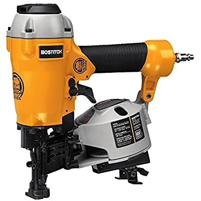 BOSTITCH U/BRN175 Factory Reconditioned Bulldog 15Degree Coil Roofing Nailer by BOSTITCH