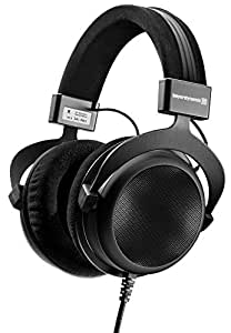 beyerdynamic DT 880 Premium Semi-Open Over Ear HiFi Stereo Headphones (250 Ohm Premium, Black (Limited Edition))