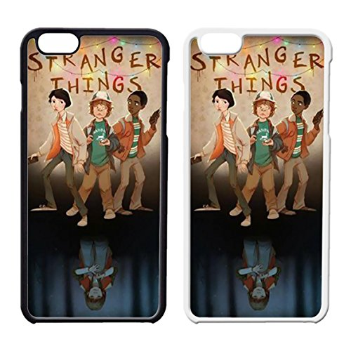 Stranger Things Cartoon 2 Cover iPhone Case Cover iPhone 6 Case or Cover iPhone 6S Black Plastic C8S8AYU
