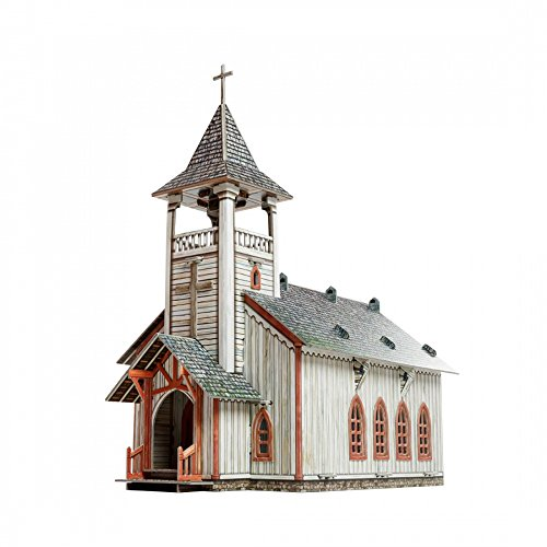- UMBUM Innovative 3D-Puzzles - The Church - Wild West Series by Clever Paper (461)