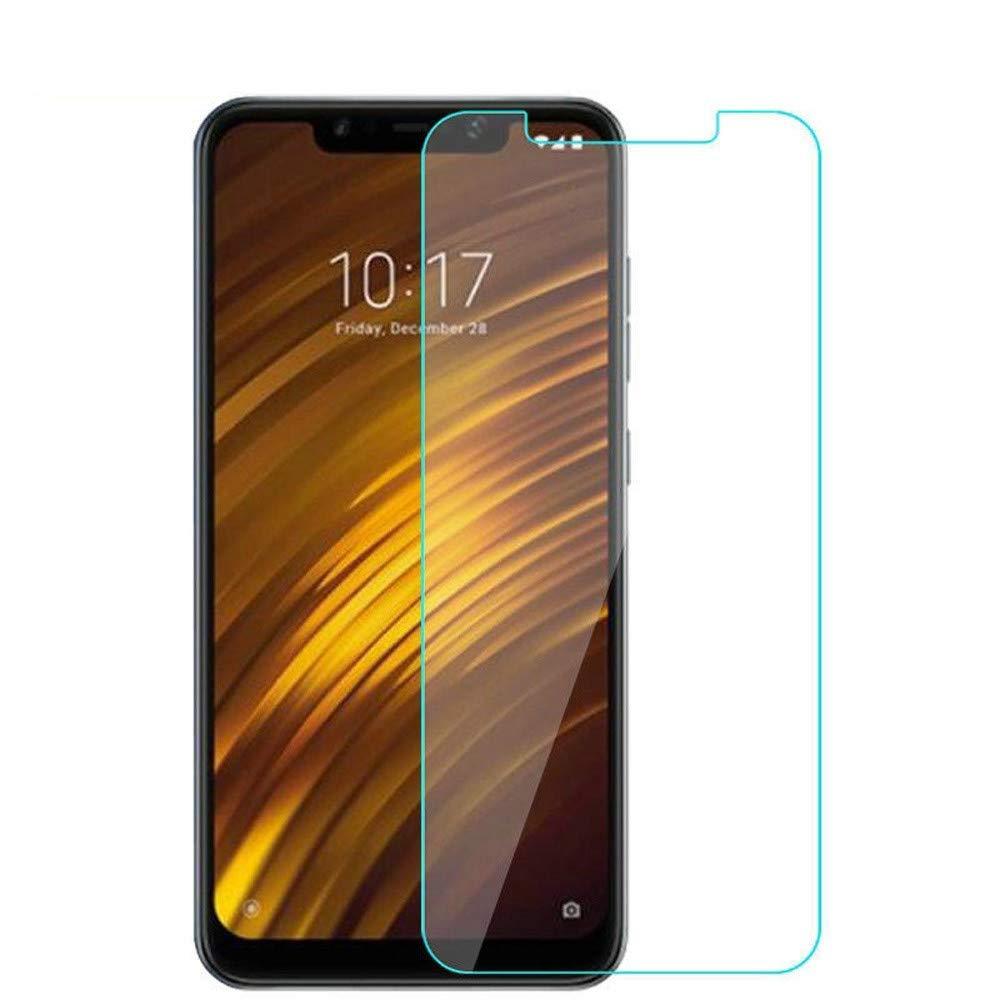 9H Duret/é HD Claire Protection de l/écran en Verre tremp/é Installation sans r/éactivit/é pour t/él/éphone Xiaomi Pocophone F1 Durable et Pratique Ogquaton Protecteur d/écran Xiaomi Pocophone F1