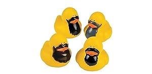 Bearded Rubber Ducks