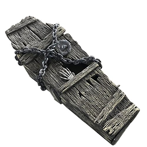 Halloween Decorations Props Coffin Casket]()