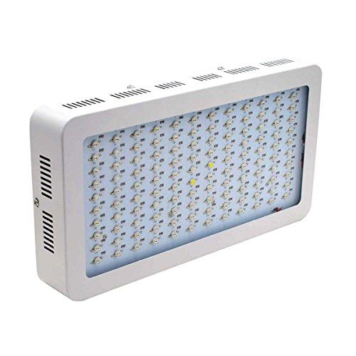 Asvert 1200w LED Grow Light Full Spectrum Double Chips with UV & IR for Garden Greenhouse Indoor Plant Veg and Flower by Asvert