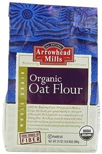 Amazon.com : Arrowhead Mills Organic Oat Flour, Whole