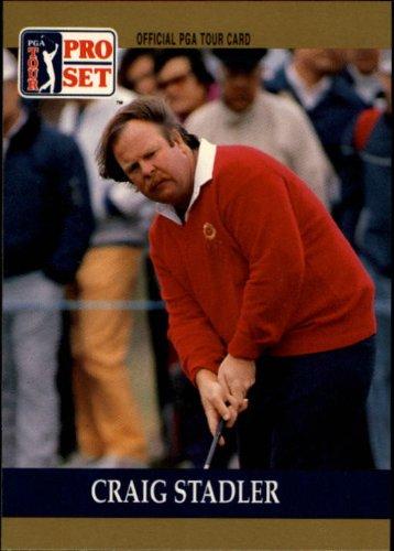 1990 Pro Set PGA Golf #61 Craig Stadler (Card Golf Pga)