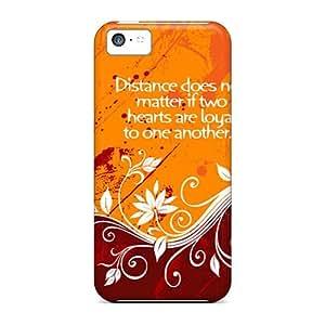 Ultra Slim Fit Hard CaroleSignorile Cases Covers Specially Made For Iphone 5c- Distance Love wangjiang maoyi wangjiang maoyi by lolosakes