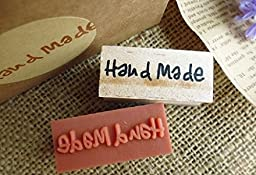 Small Hand Made Style Wooden Decoration Stamp for Craft & Scrapbooking