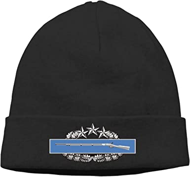 CIB 4th Award Badge Unisex Warm Hat Knit Hat Skull Cap Beanies Cap Combat Infantry Badge