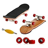 Wooden Maple Fingerboard with Red Wheels