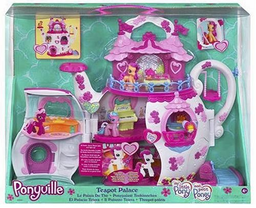 My Little Pony Ponyville Teapot Palace Playset