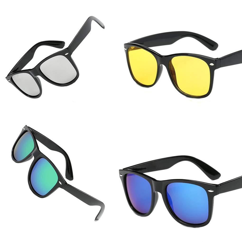 Arichtops Women Men Girls Male Sunglasses Driving Eye Protector Sunglasses Eyewear UV400 Protection