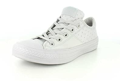 363b44af86d9 Converse Womens Chuck Taylor All Star Madison Dotted Low Top Mouse Black White  Sneaker