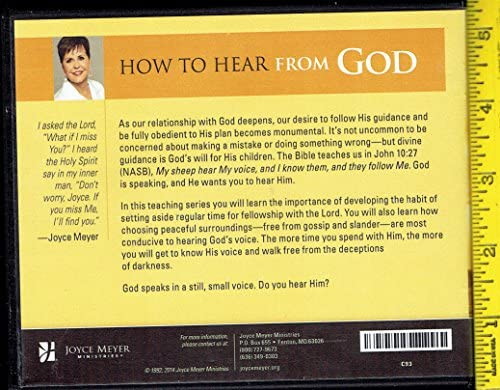 How to Hear from God: Standing Still & Hearing His Still, Small ...