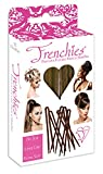 Frenchies Ultra Flocked Extra Soft French Twist Hair Pins: The French Hair Pins for Buns, Updo Hairstyles, Hair Extensions + Wigs - 20 Count Blond