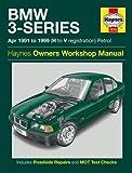 BMW 3-series Petrol Service and Repair Manual: 1991 to 1999 (Haynes Service and Repair Manuals)