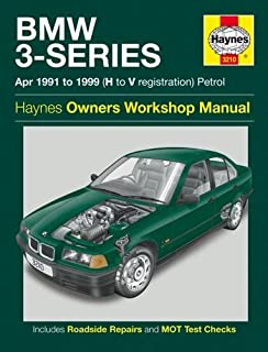 BMW 3-series Petrol Service and Repair Manual: 1991 to 1999 (Haynes Service