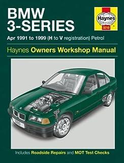 bmw 3 series e36 service manual 1992 1998 m3 318i 323i 325i rh amazon co uk Haynes Manual Monte Carlo Back Clymer Manuals
