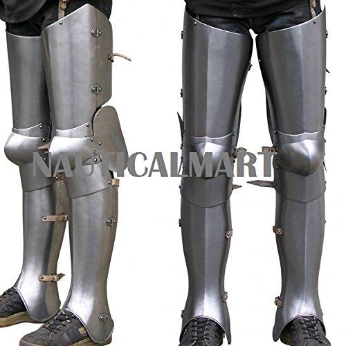 Medieval Leg Gothic Armor plate By Nauticalmart