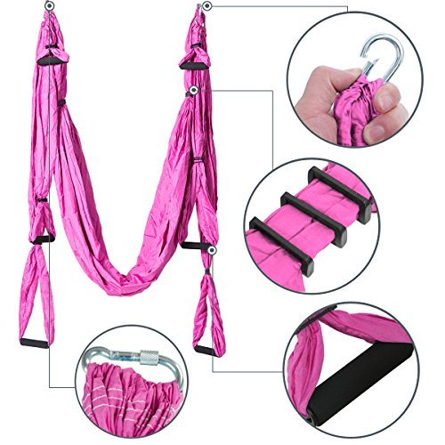aerial yoga hammock kit yoga swing set with installation hardware and 2 extension straps aerial yoga hammock kit yoga swing set with installation hardware      rh   lifestyleupdated