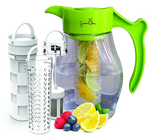 Fruit-Tea-Infusion-Flavor-Pitcher-FREE-Infuser-Recipe-Ebook-Water-tea-infuser-jug-includes-3-infusers-for-fruit-tea-and-ice-to-enhance-the-flavor-of-water-Perfect-for-detox-weight-loss