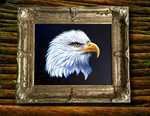 Eagle American Airbrushed - AMERICAN ICON - HAND AIRBRUSHED AND PAINTED ORIGINAL ART