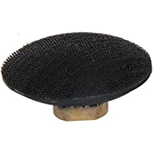 """Easy Light 4 Inch Velcro Convex Hook and Loop Backing Pad 5/8""""-11 Thread for Bowl-shaped Diamond Polishing Pads"""