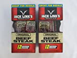Jack Link's Premium Cuts Original Slow Cooked & Seasoned Beef Steak: 24 Individual Snacks of 1 Oz - Sms20