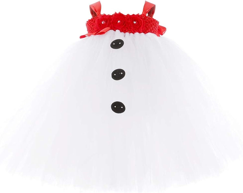 Disfraz de Muneco de Nieve para Ninos con Flor roja Tres Botones Negros Disfraz de Papa Noel Blanco para Halloween Cosplay