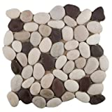 Emser Tile M18VENEGE1212MSH Venetian Pebble Gelato BLD Tile, 12 x 12''