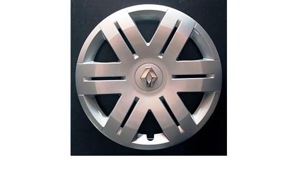 Wheeltrims Set de 4 embellecedores nuevos para Renault Clio 3 / Scenic 2 / Megane 2 / Megane 3 / Modus/Laguna 2 / Laguna 3 / Espace 4 / Vel Satis/Twingo 2 ...