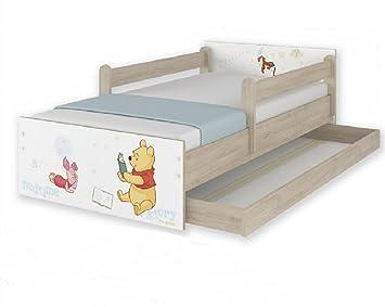 nuevos modelos x camas infantiles disney winnie de pooh hogartrend con cajon y barandillas