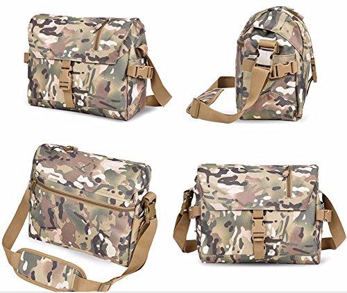 Al Peak Outdoor Hombre Gris Bolso Para Camouflage Hombro dvdEq