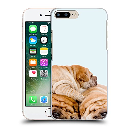 GoGoMobile Coque de Protection TPU Silicone Case pour // Q05540619 3 shar pei bolle // Apple iPhone 7 PLUS