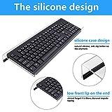 Kalolary 3 Pcs Acrylic Tilted Computer Keyboard
