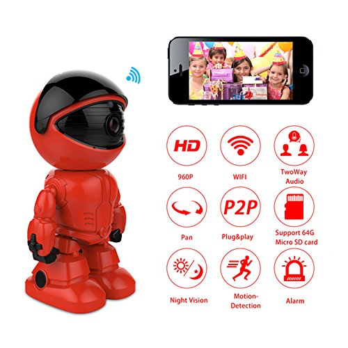 HisEEu Wireless Security Camera Wifi Robot IP Camera FMK 960