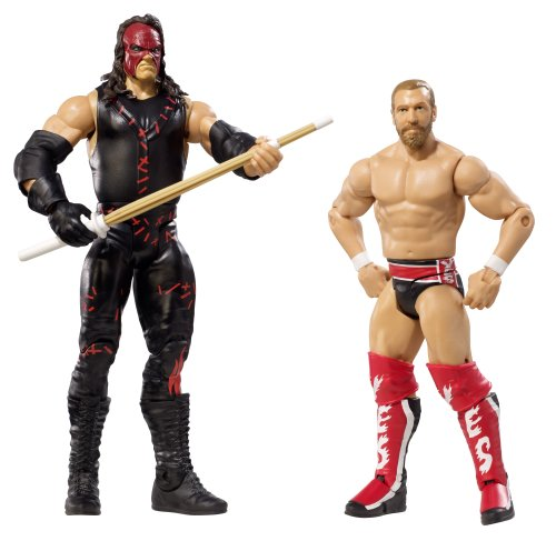 WWE Series 21 Battle Pack: Daniel Bryan vs. Kane Figure, 2-Pack by Mattel