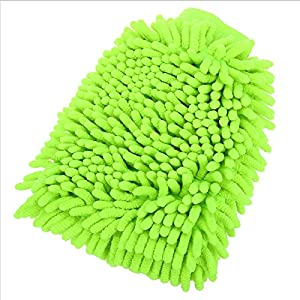 Dette 1pc New Microfiber Car Window Washing Home Cleaning Cloth Duster Towel Gloves