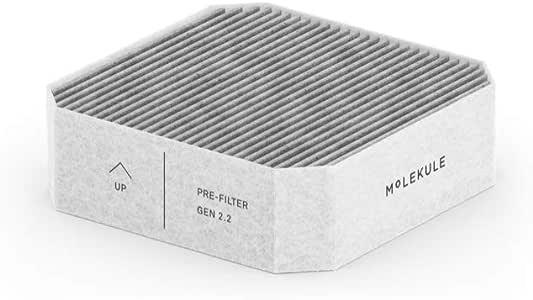 Molekule Air-PRE Filter (2pk), White
