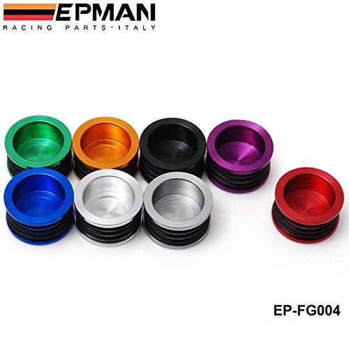 EPMAN Racing Engine Billet Cam Camshaft Plug Seal For B16 B18 B20 H22 H23 F20 Engine Red