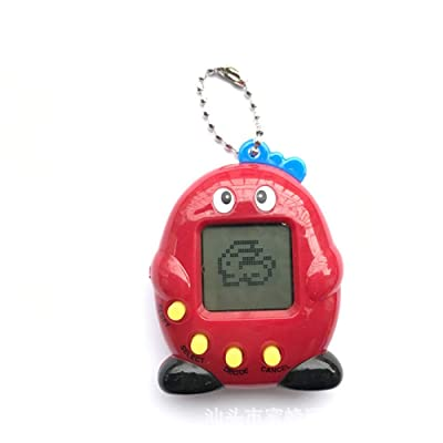 NEAER Tamagotchi Virtual Cyber Pet Toy Electronic Pets Digital Pet Machine Handheld Game Machine Toy with Retro Nostalgic Keychain Kids Gift Toys: Home & Kitchen