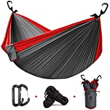 We Love Mother Nature!To help fight against deforestation, Two Tree Hammock Co.® plants Two Trees for the future for every Product sold!What makes us the Top Choice Parachute Hammock by Outdoor Adventure & Lifestyle influencers?♦Upgraded Aluminum...
