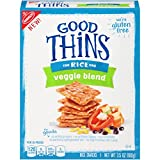 Good Thins Veggie Blend Gluten Free Rice Crackers – 3.5 Ounce Box For Sale