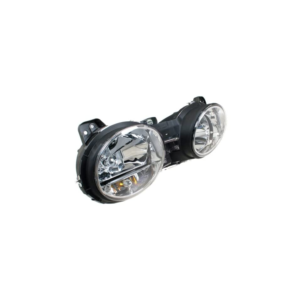 OES Genuine Jaguar S Type Replacement Driver Side Headlight Assembly
