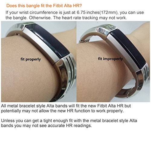 bayite Fitbit Alta Bands Jewelry Bangle For Fitbit Alta, - Import It All