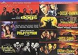 TARANTINO Mega Feature Film Pack: Triple Feature- Reservoir Dogs/ Pulp Fiction/ Jackie Brown & From Dusk Till Dawn/ Full Tilt Boogie/ From Dusk Till Dawn 2/ From Dusk Till Dawn 3 (7 Film DVD Bundle)