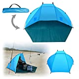 BenefitUSA Portable Outdoor Tent Fishing Beach Canopy Family Sports Camping Hiking Picnic Sunshade Shelter Travel Napping