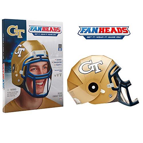 Fan Heads 69726-PDQ Georgia Tech Jackets, Yellow
