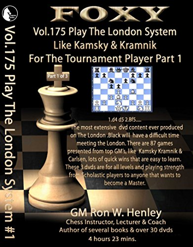 Foxy Openings - Volume 175 - Play The London System Like Kamsky and Kramnik - Volume 1 Instructional Chess DVD